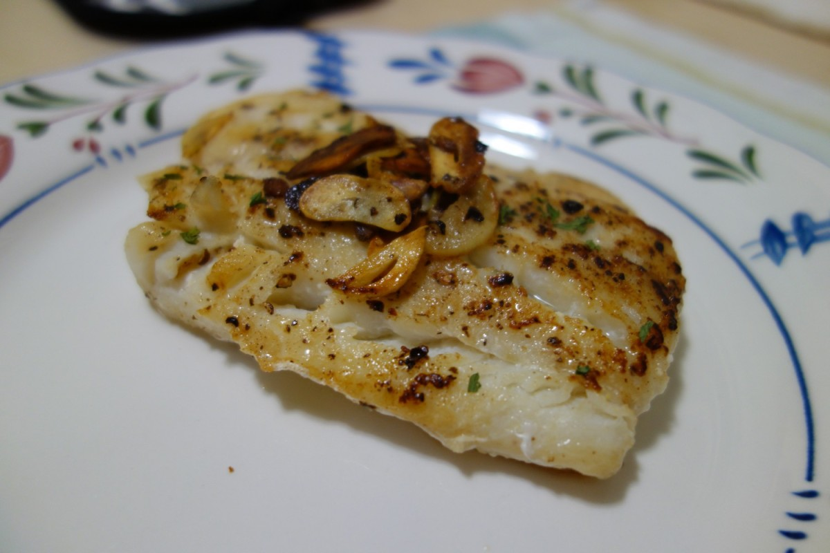 Garlic Butter Cod Fillet 香蒜奶油煎鱈菲力