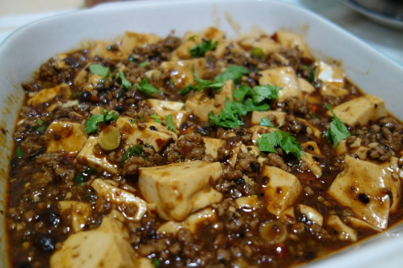 Ma-Po Tofu (麻婆豆腐) Sichuan Peppercorn spicy sauce tofu, another rice killer